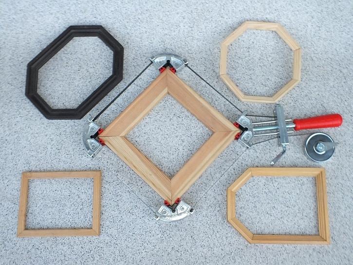 Svěrky na rámečky a speciální svěrky