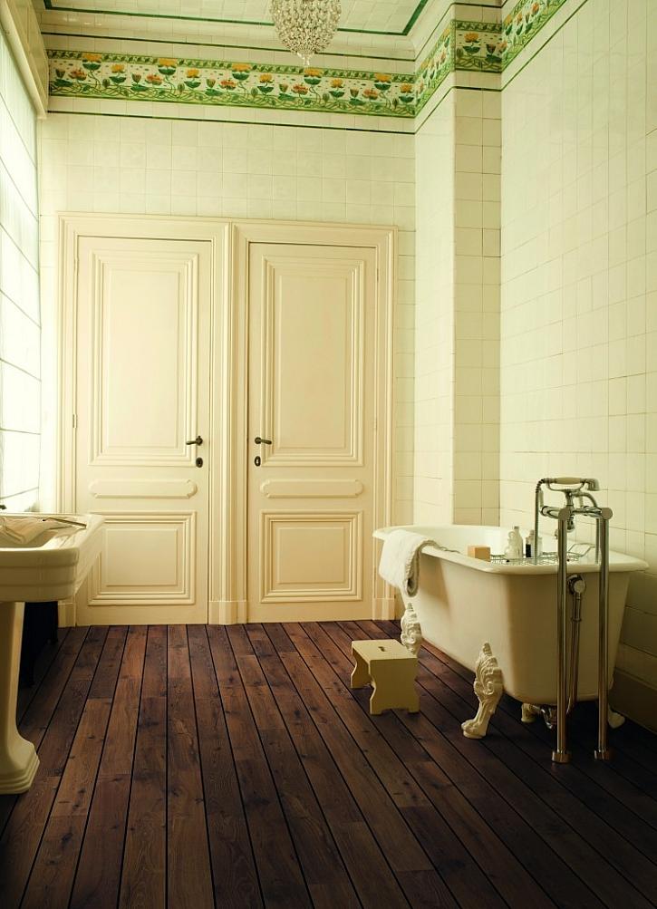 Podlahová krytina v koupelně: může tam i laminát