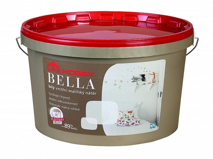Barva Bella od UNI HOBBY v plastovém kyblíku