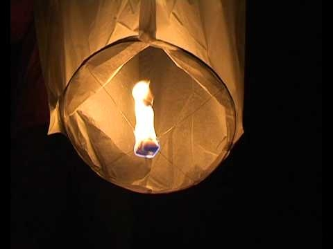 Valentýnský lampion štěstí