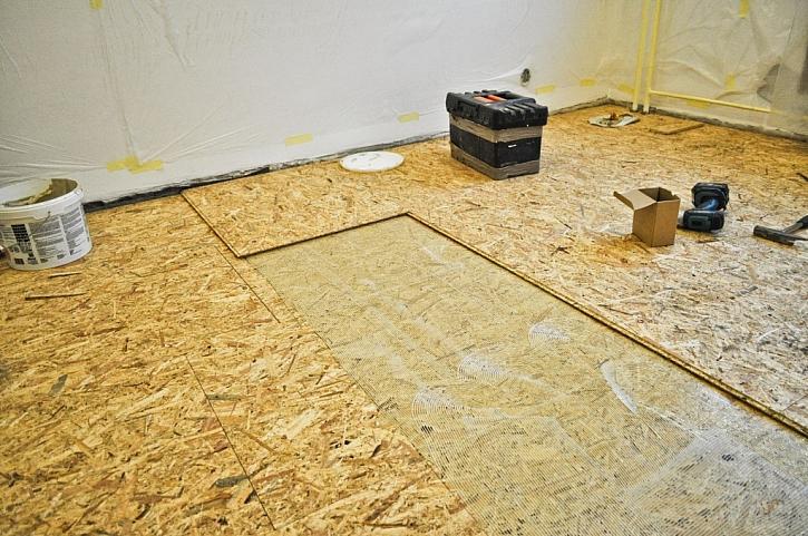 Dřevovláknité OSB desky taktéž patří mezi materiály pro suchou výstavbu