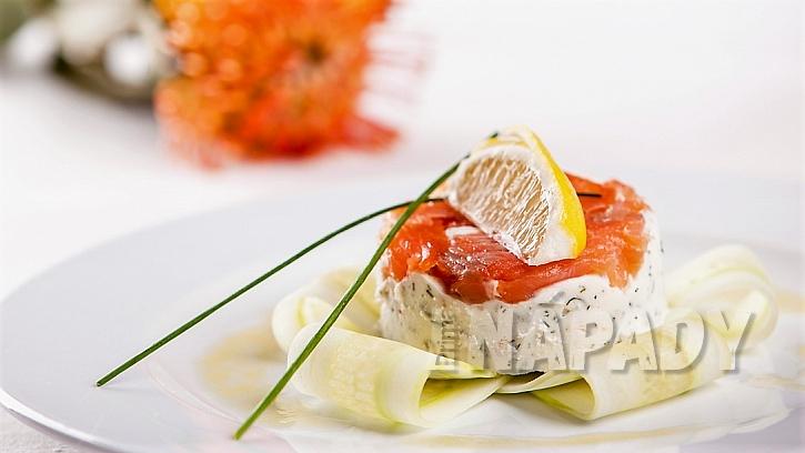 Recept na terinky z uzeného lososa