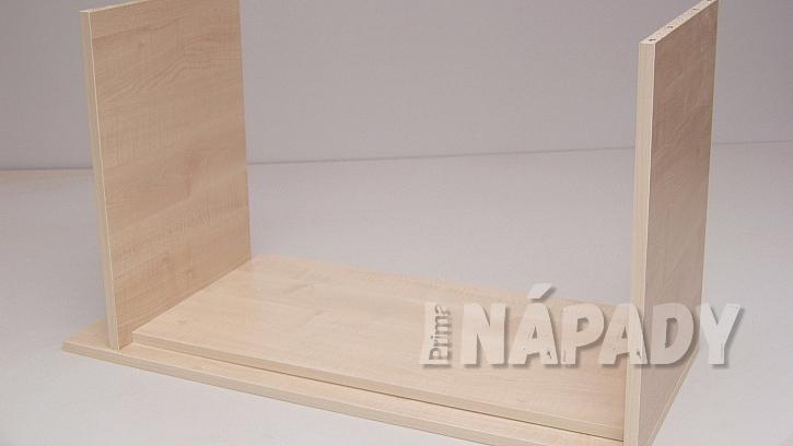 Jak si za jedno odpoledne vyrobit šikovný stolek na časopisy, knížky i velké obrazové publikace 2