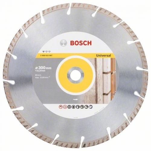 BOSCH Diamantový dělicí kotouč Standard for Universal 300 × 20 mm
