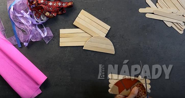 Krabička na bonbony: vytvořte bočnice