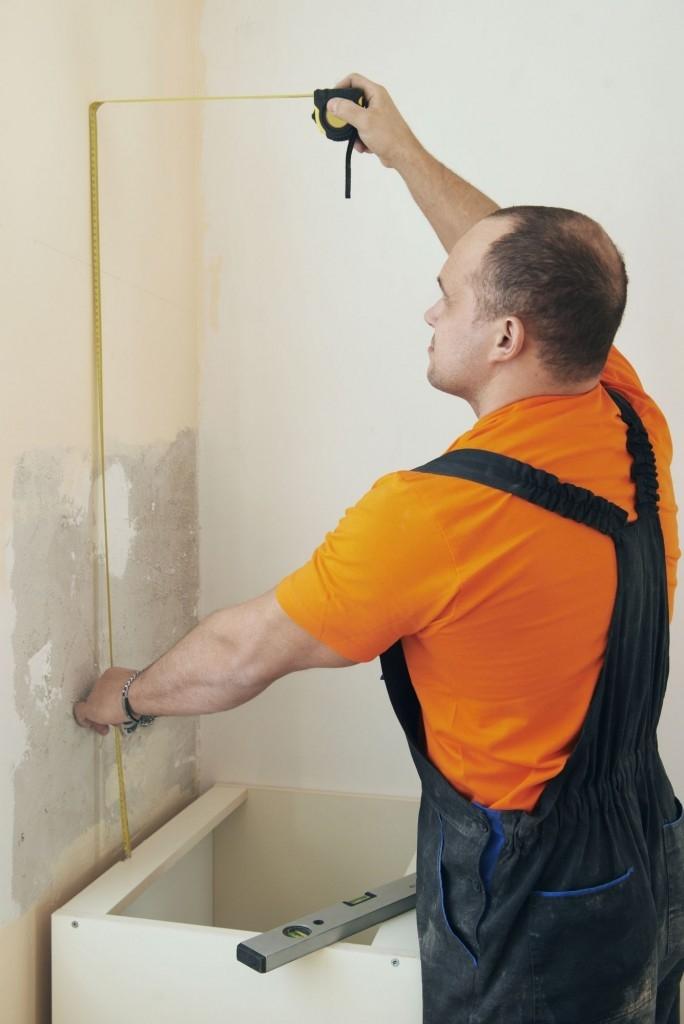Měření na zdi