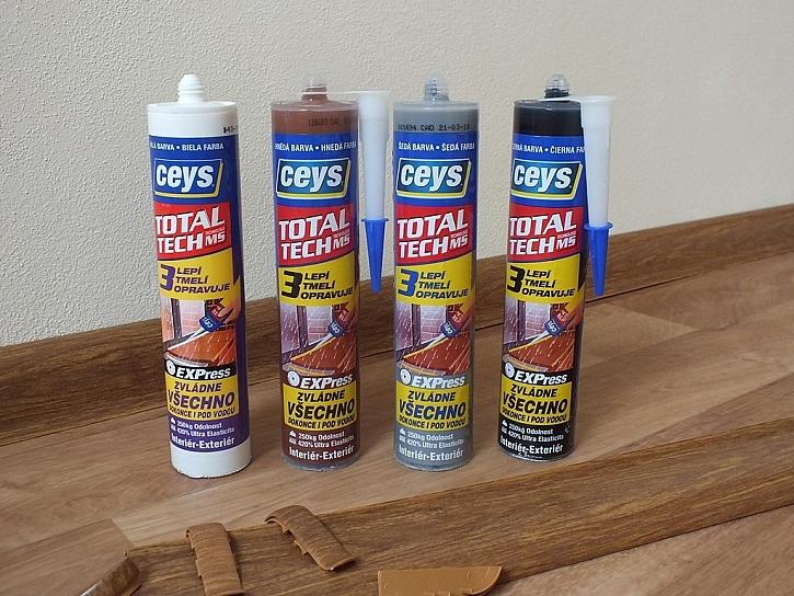 Lišty z podlahy neutečou, postará se o to lepidlo a tmel v jednom: Ceys Total Tech