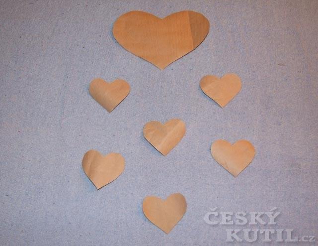 Valentýnská srdíčka