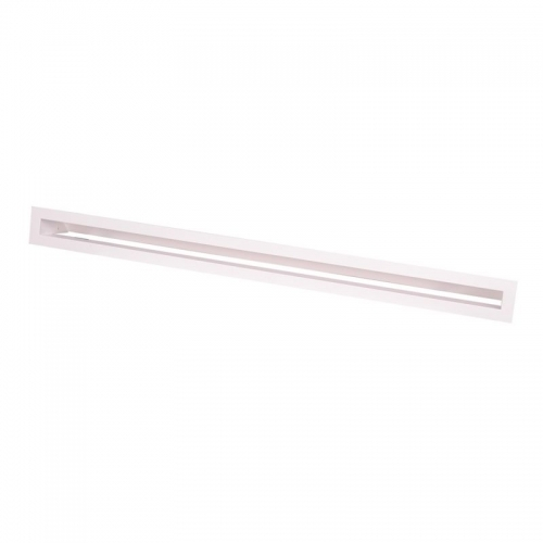 Krbová mřížka AERO 98x6cm - bílá