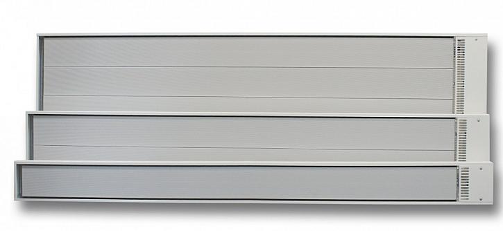 Sálavé panely ECOSUN S+ vhodné k vytápění garáží, servisů či opraven aut.