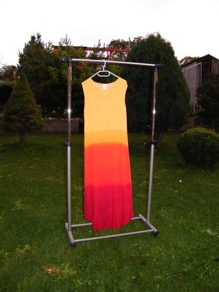 Namáčená batika – šaty