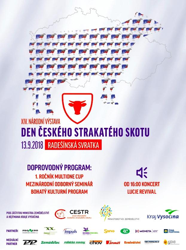 PAMA zve na výstavu v Radešínské Svratce na Den českého strakatého skotu