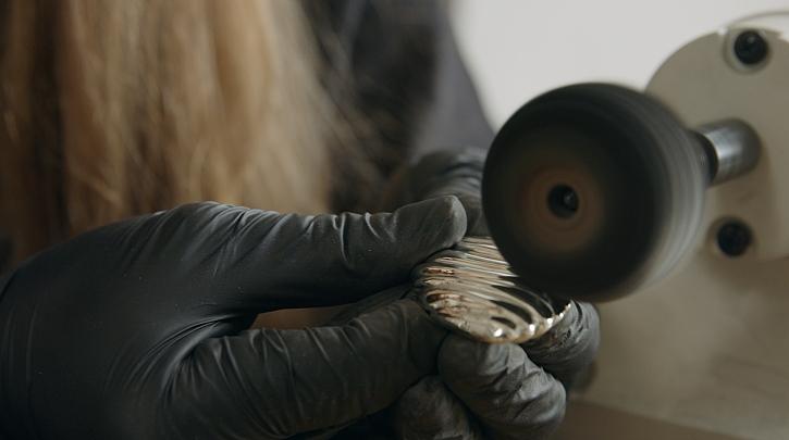 leštění šperku