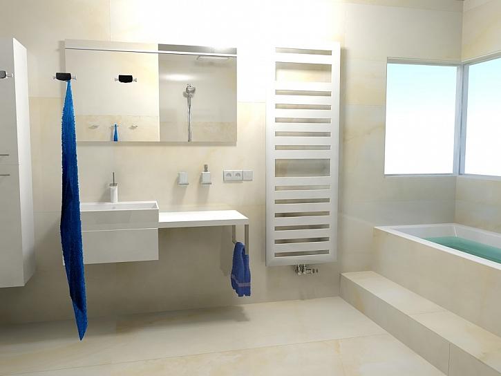 Inspirace pro koupelny - 2. díl - 20 nejlepších návrhů koupelen s designovými radiátory Zehnder