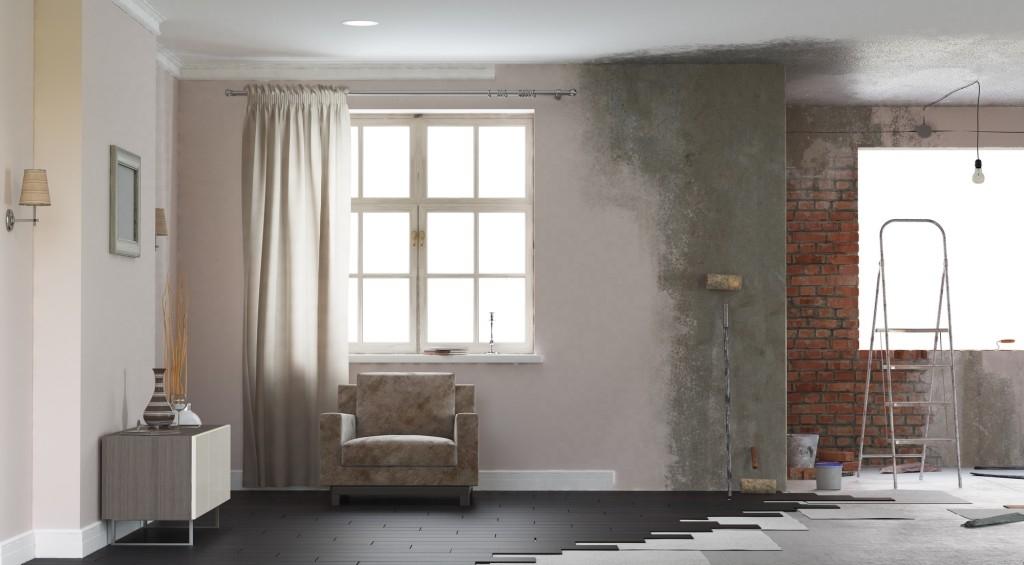 Jak vyrovnat nerovnosti na zdi, aby dekorace lépe vynikly
