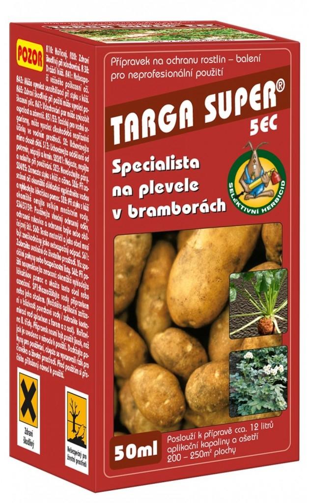 Hubení plevelů v bramborách