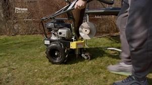 instalace vodícího drátu pod zem