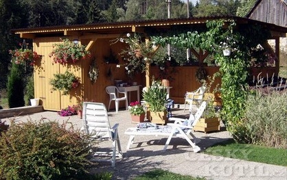 Dřevěné stavby a konstrukce v zahradě