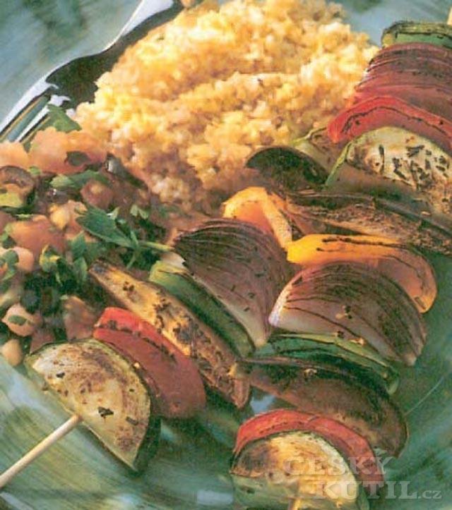 Kebab na grilu