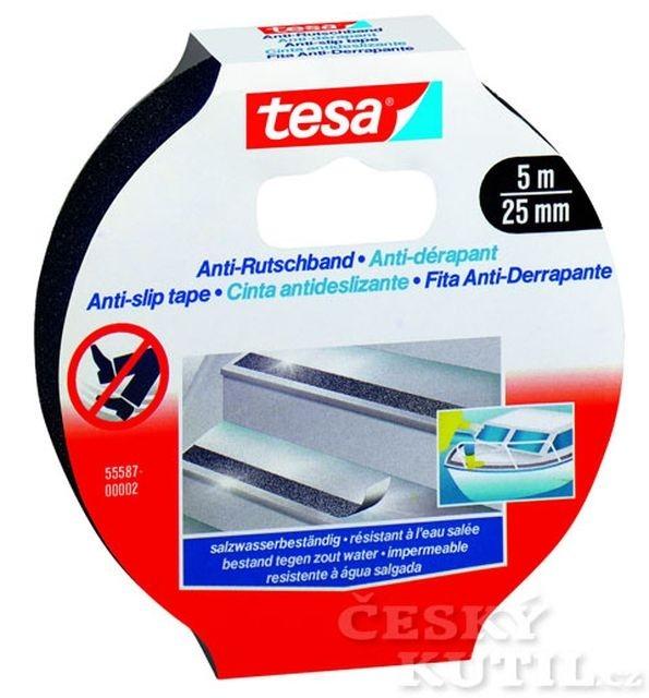 Protiskluzová páska do suchého i vlhkého prostředí