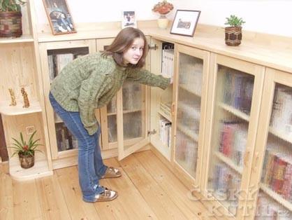 Praktická knihovna do zkoseného podkroví - 1. díl (Zdroj: PePa)