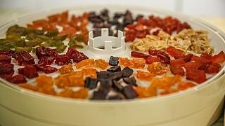 Kandované ovoce z cukety: Různé barvy, různé chutě