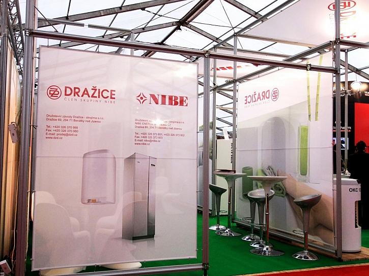 Energeticky úsporná řešení nejen pro vytápění NIBE Energy systems na veletrhu AquaTherm