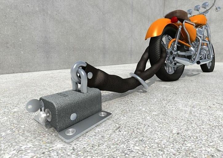 Užijte si vyjížďky na motorce bez strachu z krádeže
