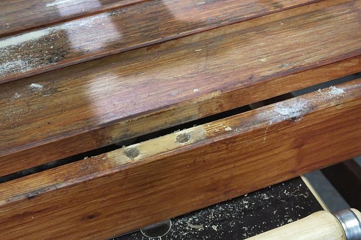 oprava dřeva