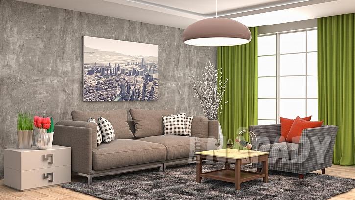 Techniky malování bytu dokáží vykouzlit zajímavý interiér (Zdroj: Depositphotos.com)