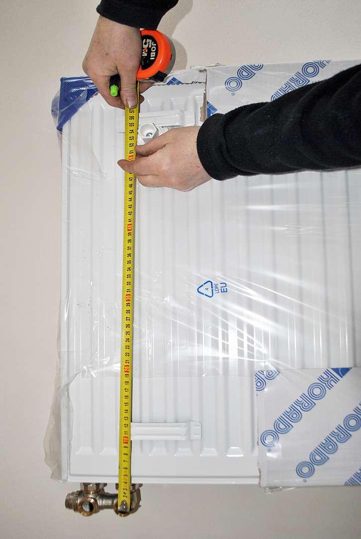Měření radiátoru