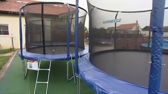 Zahradní trampolíny