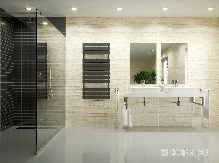 Designový radiátor do koupelny KORATHERM AQUAPANEL