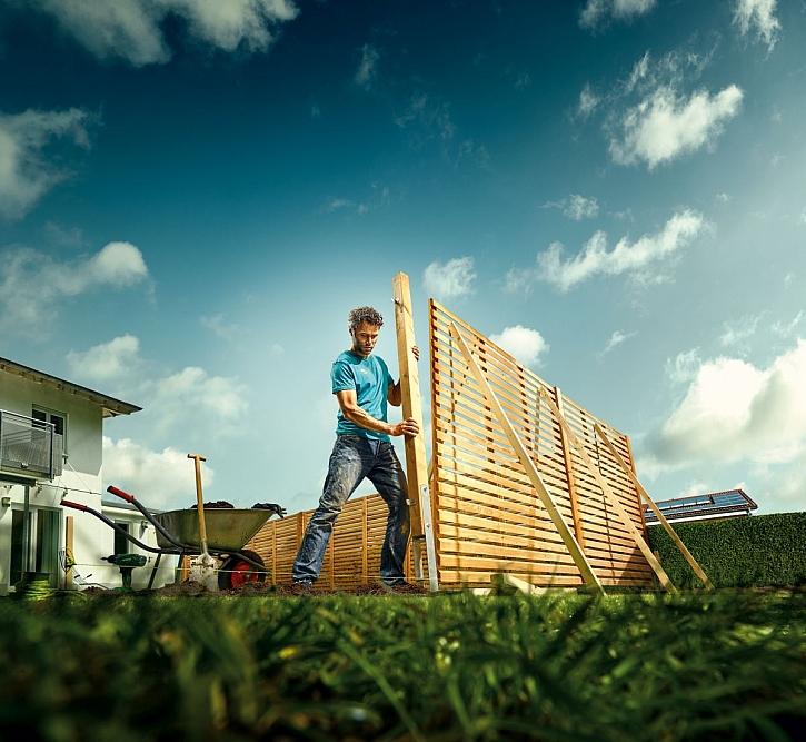 Na co nezapomenout při stavbě plotu (Zdroj: Hornbach)