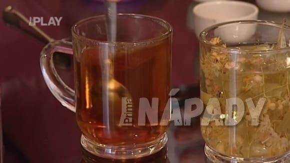 Hot drink na nachlazení