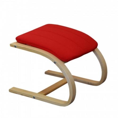 Podnožka LISA červená, IDEA nábytek