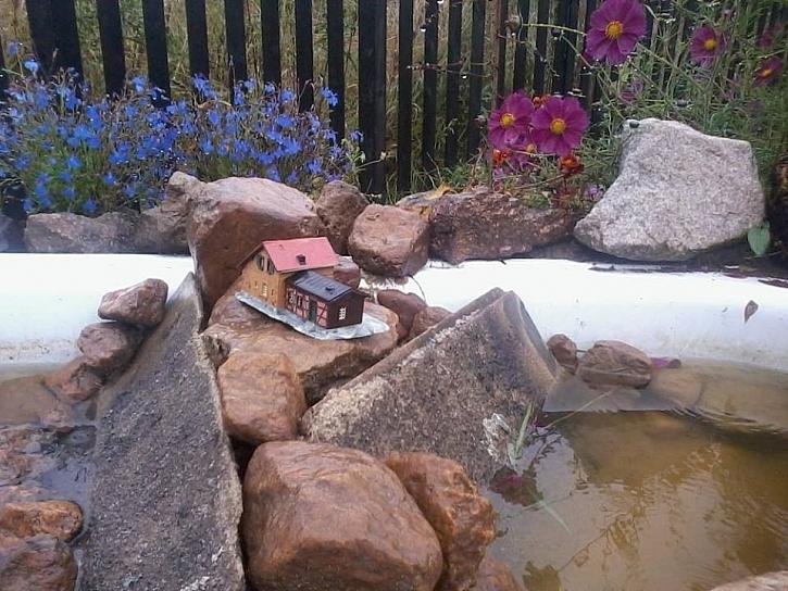 Maják – dekorace do zahrady