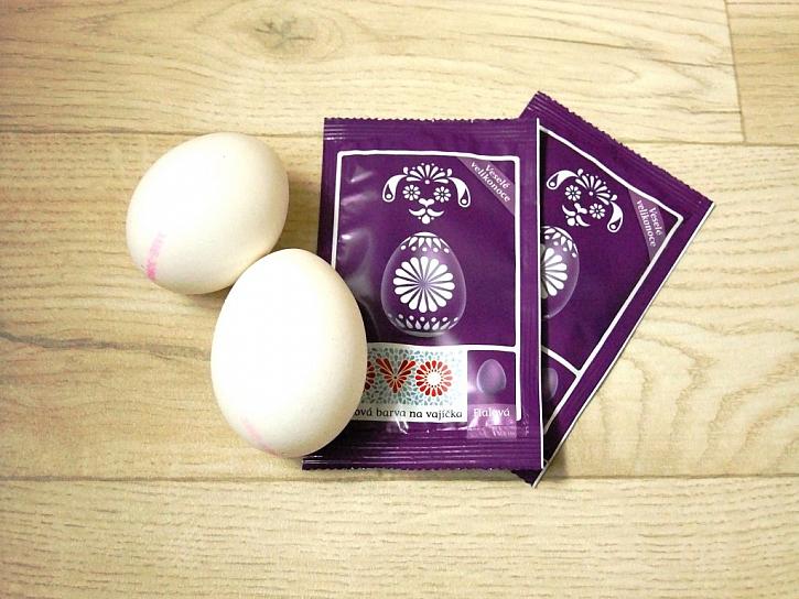 Malování vajíček, výroba kraslic