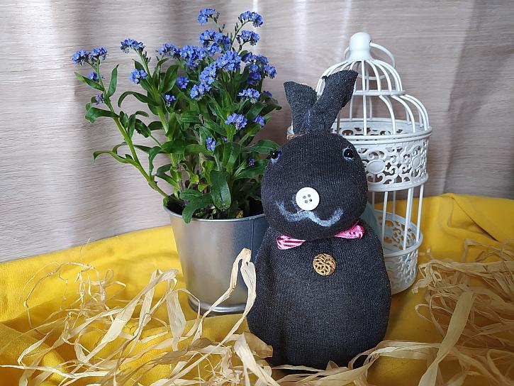 Velikonoční zvířátka ozdobí stůl nebo okno (Zdroj: Adriana Dosedělová)