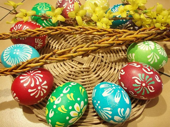 OVO - tradiční barvy na vajíčka