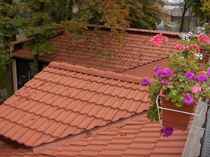 Kontrola střechy: pozor na okapy