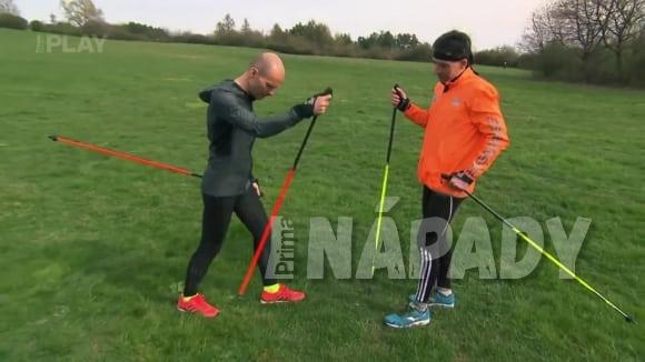 Běh s holemi (Nordic running)