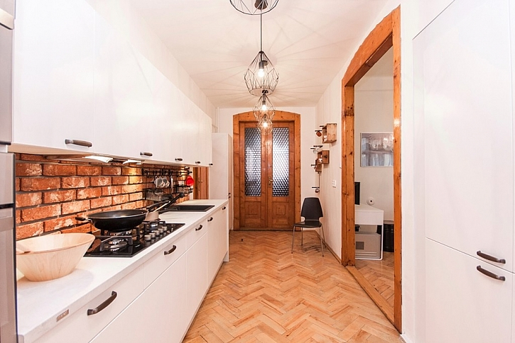 Moderně vybavená kuchyně