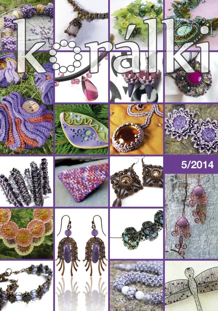 Obsah časopisu Korálki 5/2014 – fialová Lakovka