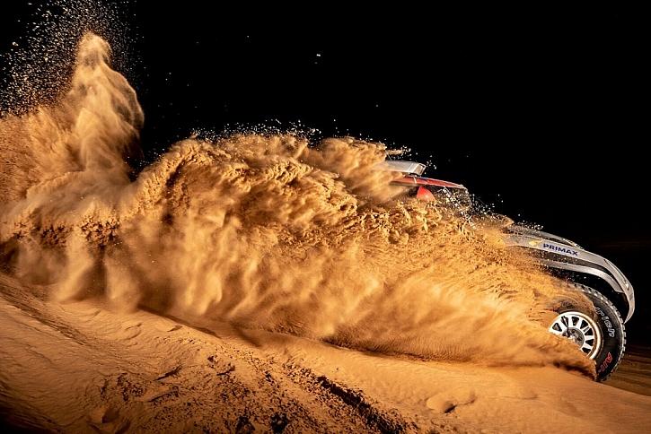 Kärcher na Dakaru: letos se závodníci musí vypořádat s extrémně náročným terénem