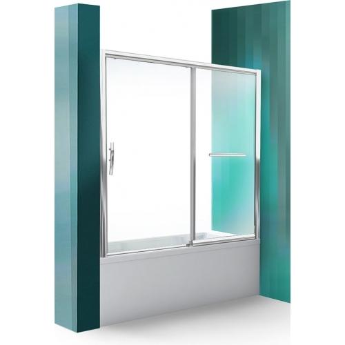 ROLTECHNIK Vanová zástěna s posuvnými dveřmi PXV2P/1800 brillant/transparent 451
