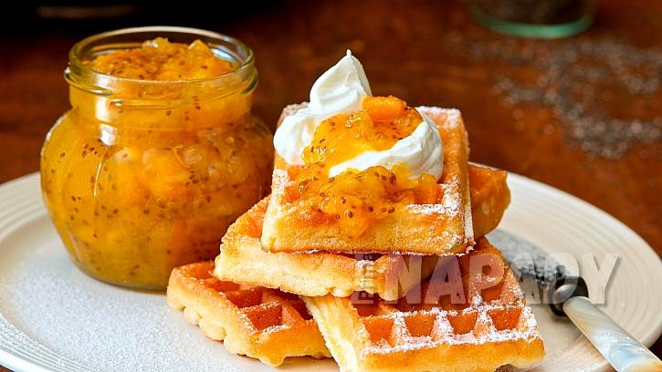 Domácí pomerančová marmeláda s chia semínky