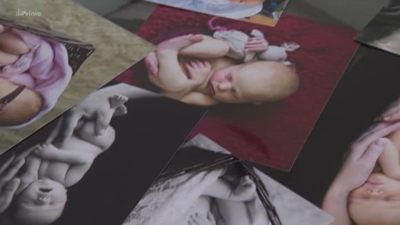 Fotografování novorozenců