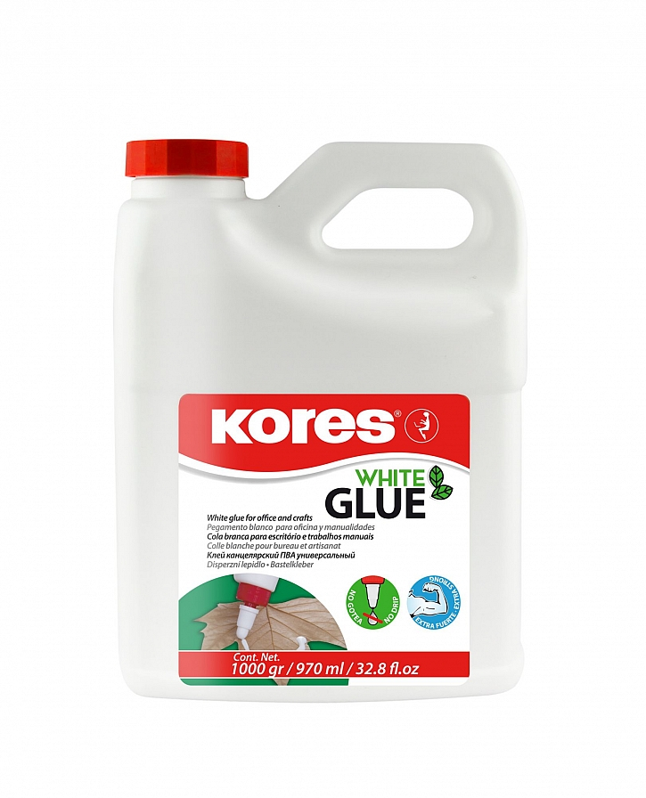 Lepidlo Kores White glue 1000 g