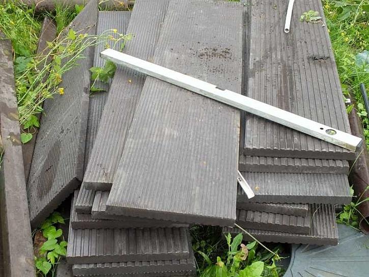 Plastové terasové desky TRAPLAST